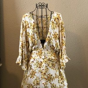 Floral dress by Faithful the Brand